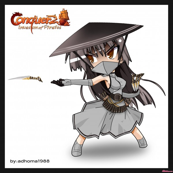 Conquer Online Chibi Assassin F
